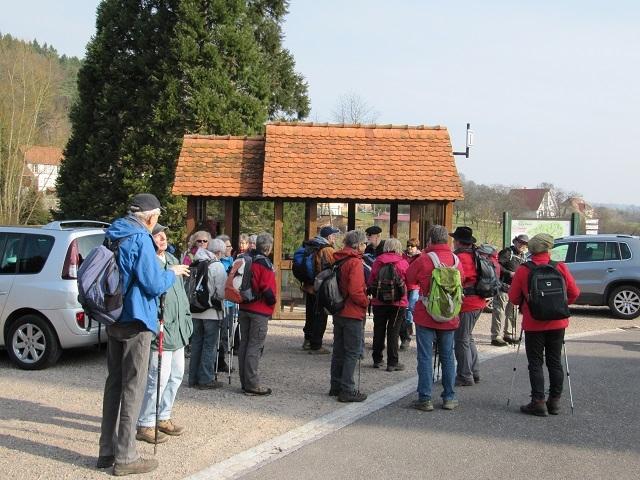 Départ à Zittersheim