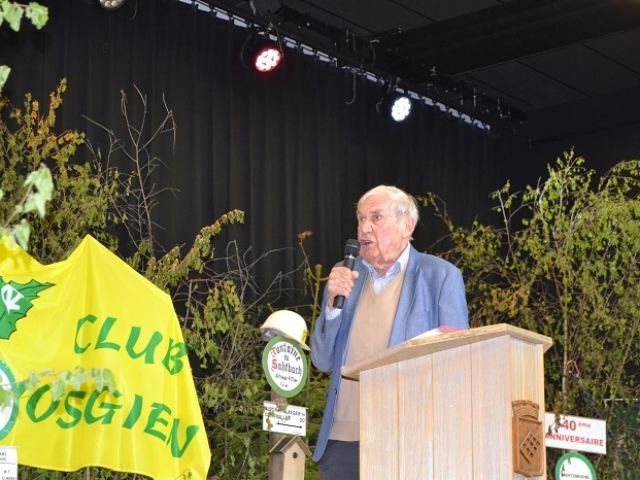Allocution de l'ancien Ministre, Daniel Hoeffel