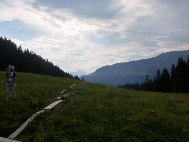 Hörnlepass 1159m - Sentier vers Gottesacker