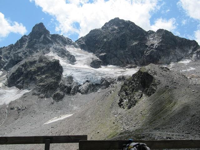 Vue depuis la Saarbrücker Hütte
