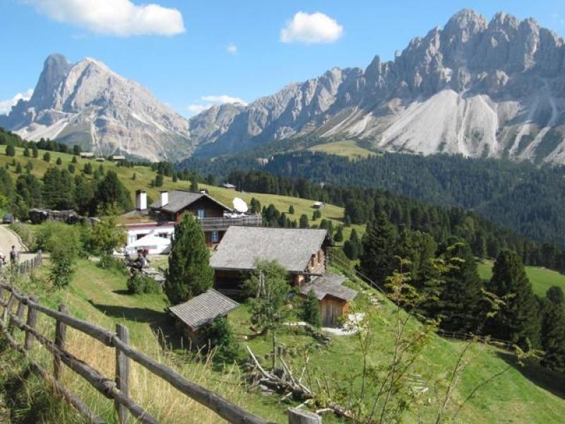 Schatzerhütte Vue sur le retour