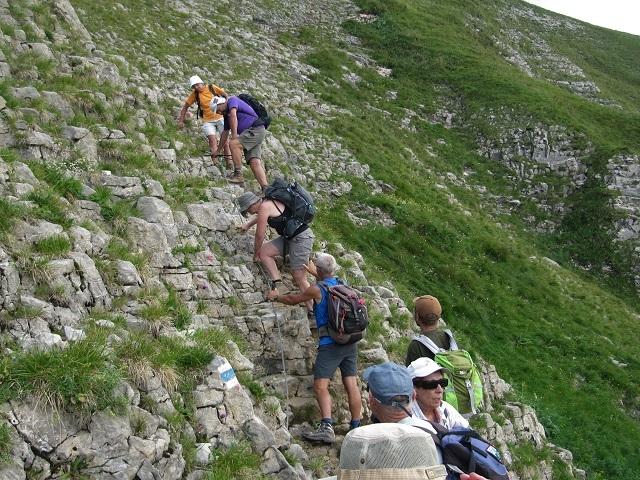 Descente vers Alpe Ifersgunt