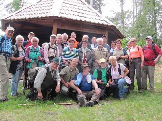 Le groupe au Geierstein