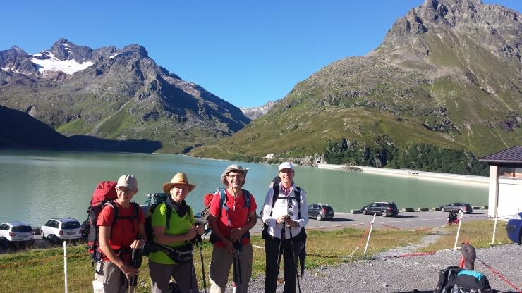 039  Devant le lac Silvretta