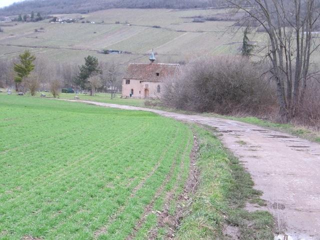 Chapelle St Jacques Entre Mutzig et Molsheim