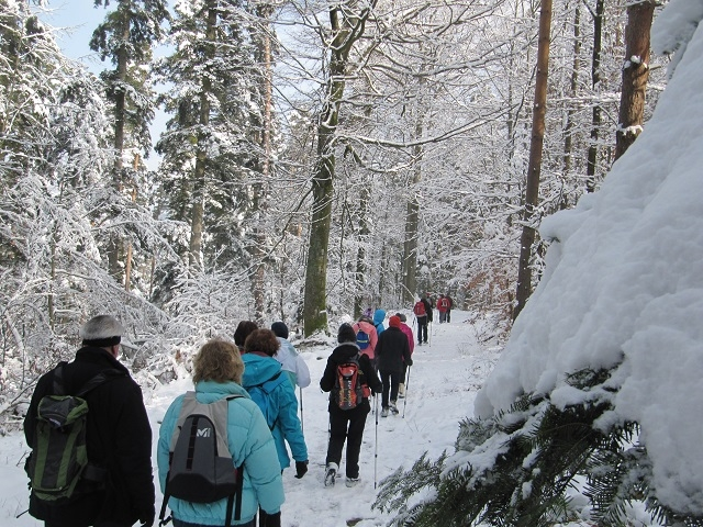 Sentier vers le Freudeneck