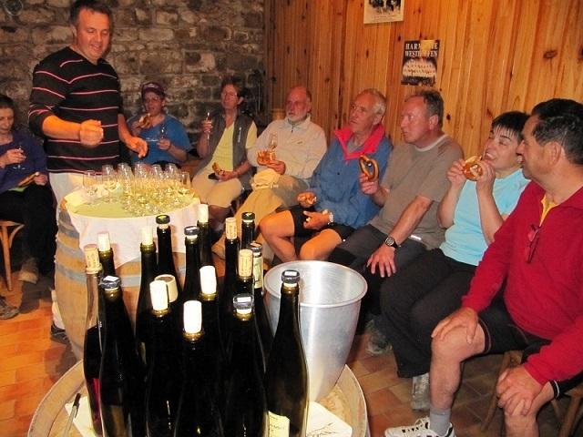 5851 Visite de la cave F. Arbogast à Westhoffen