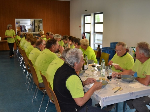 L'équipe de service à table