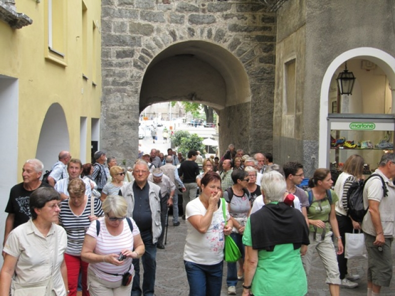 Merano Porte vers la vieille ville