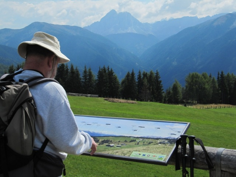 Vue sur le Peitlerkofel (2875m)