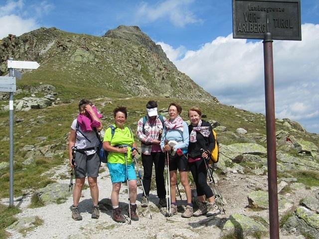 Vers la Wiesbadener Hütte - Radsattel (2652m)