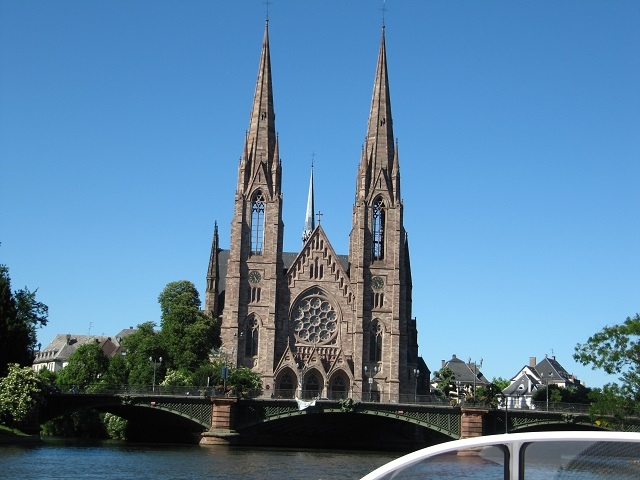 Strasbourg - Visite en Batorama - L'église St Paul