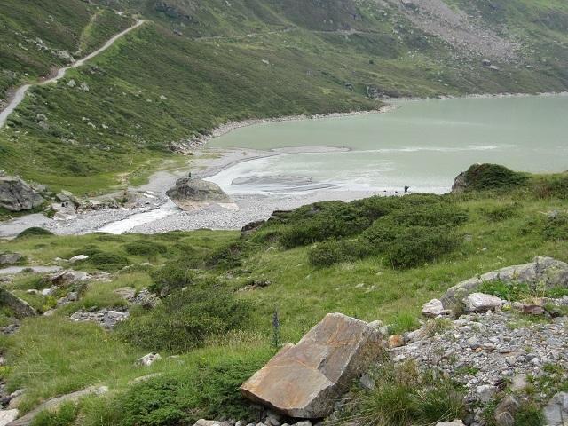 Descente par l'Ochsental - Silvretta See