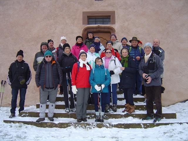 Devant la Chapelle de Hohengoeft