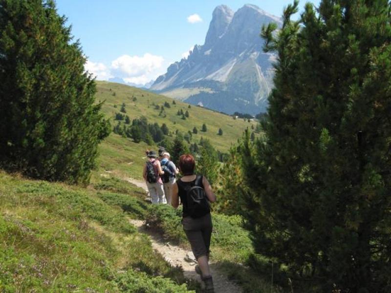 Vers la Schatzerhütte