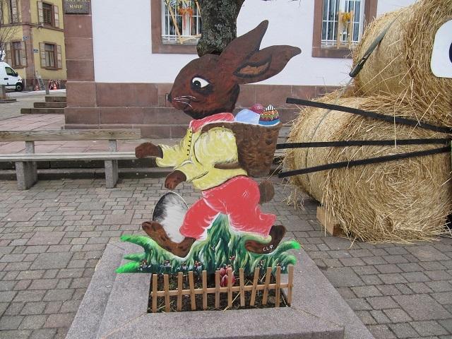 Décors de Pâques à Grendelbruch