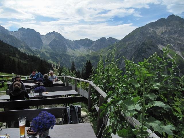 Vue depuis Kuhgehren Alpe