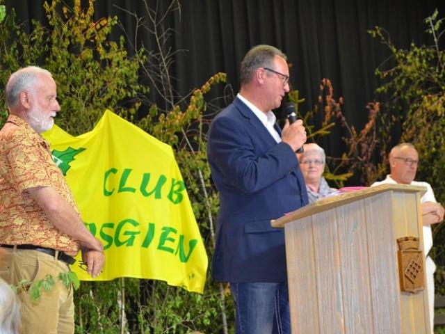 Allocution du Président du Club du PV Dahn, Martin