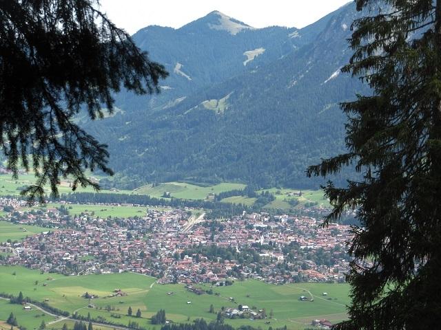 Sattelkopf - Vue sur Oberstdorf