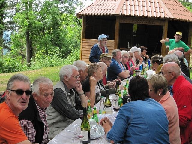 Pause déjeuner au Geierstein