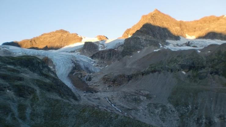 60 Lumière du matin - Descente vers le Lac Silvretta