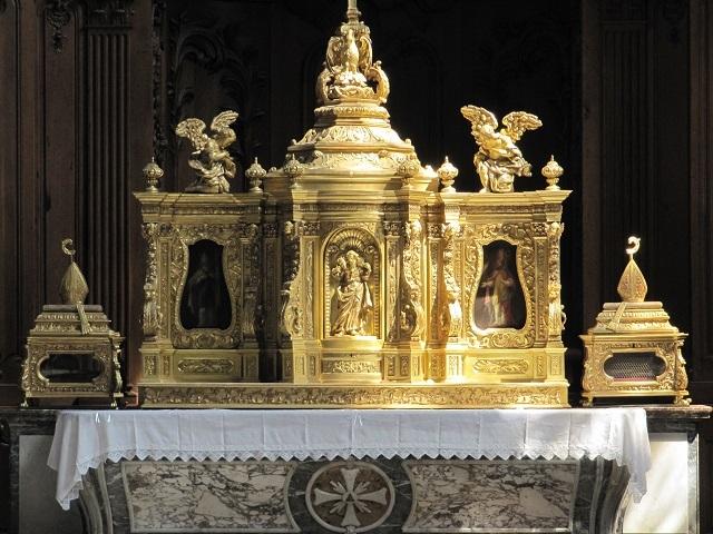 Abbaye de marmoutier - L'autel