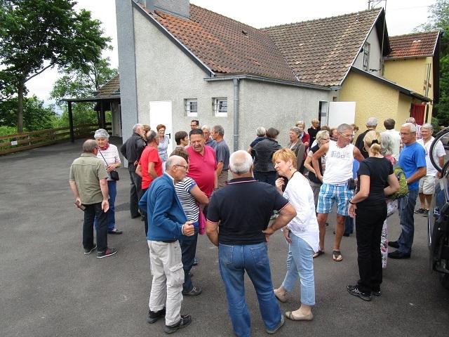 Accueil au Foyer Bruderbach à Westhoffen