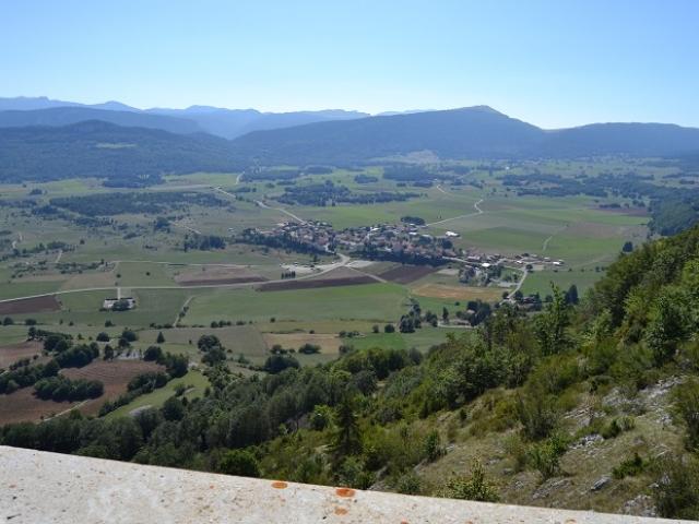 Le village de Vassieux