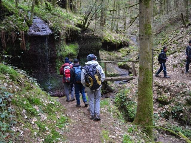 Sentier des rochers
