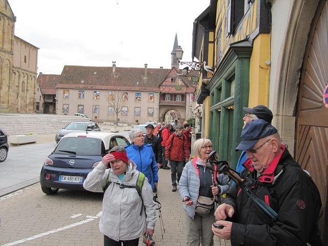 Porte Hohenbourg et église St Pierrre et  St Paul
