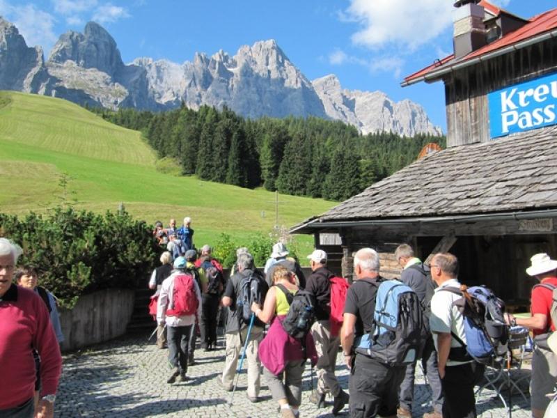 Vue sur les Sextner Dolomiten